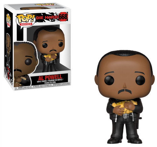 Funko Die Hard POP! Movies Al Powell Vinyl Figure #668