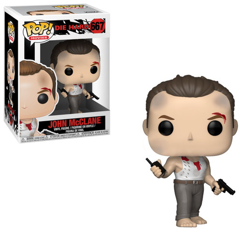 Funko Die Hard POP! Movies John McClane Vinyl Figure #667