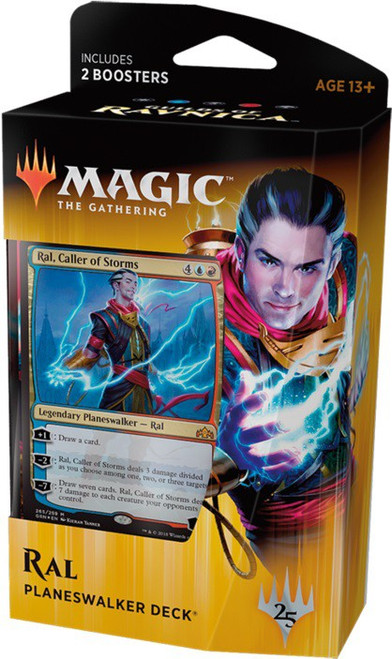MtG Trading Card Game Guilds of Ravnica Ral Zarek Planeswalker Deck [Comes with 2 Boosters!]