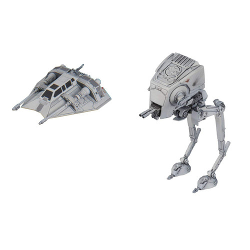 Star Wars AT-ST & Snowspeeder 1/144 Model Kit