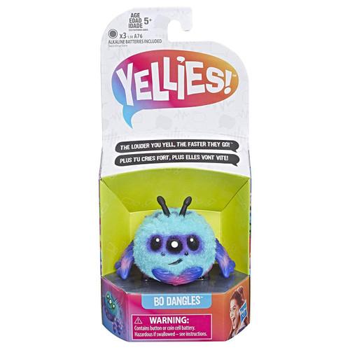 Yellies Bo Dangles Fuzzy Pet Figure