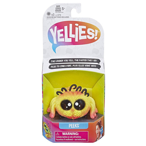 Yellies Peeks Fuzzy Pet Figure