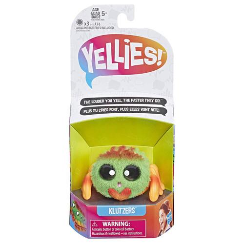 Yellies Klutzers Fuzzy Pet Figure