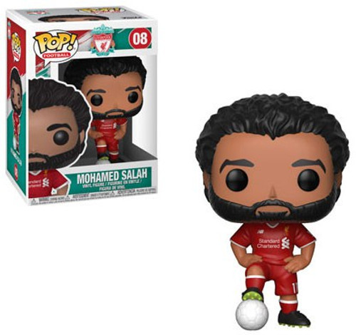 Funko Football (Soccer) Liverpool POP! Sports Mohamed Salah Vinyl Figure #08