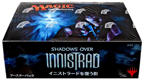 MtG Trading Card Game Shadows Over Innistrad Booster Box [Japanese]