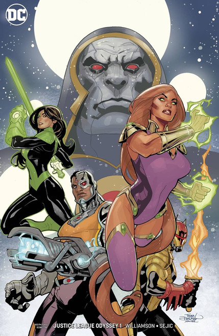 DC Justice League Odyssey #1 Comic Book [Variant]