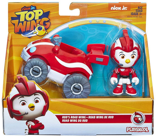 Nick Jr. Top Wing Rod's Road Wing Figure & Vehicle