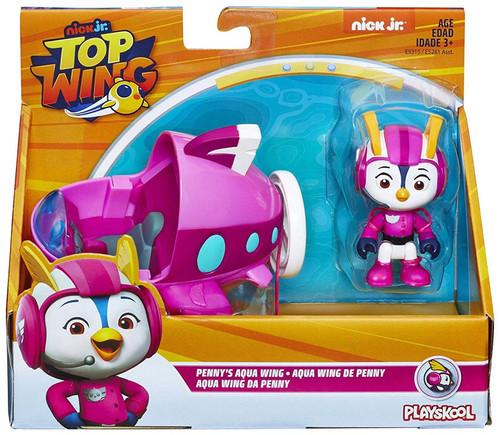 Nick Jr. Top Wing Penny's Aqua Wing Figure & Vehicle