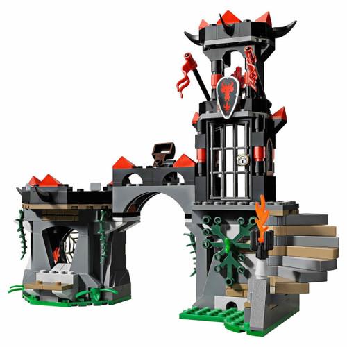 LEGO Castle Terrain Sets Dragon's Tower [Loose]