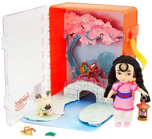 Disney Princess Animators' Collection Mulan Exclusive Mini Doll Playset