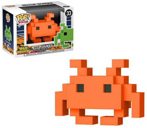 Funko Space Invaders POP! 8-Bit Medium Invader Exclusive Vinyl Figure #33 [Orange]