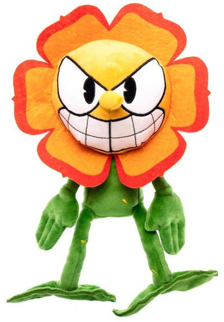 Funko Cuphead Series 2 Cagney Carnation Plush