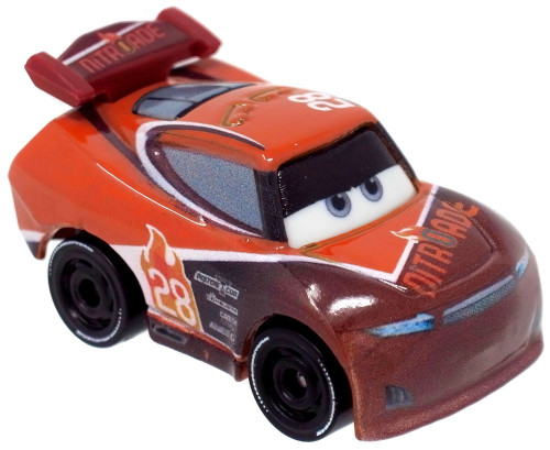Disney Cars Die Cast Mini Racers Tim Treadless Car [Regular Version Loose]