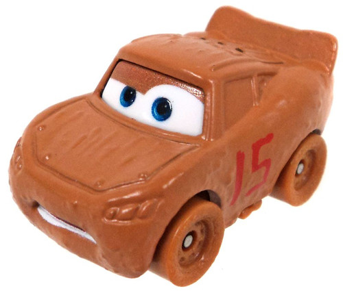 Disney Cars Die Cast Mini Racers Lightning McQueen as Chester Wipplefilter Car [Loose]