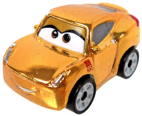 Disney Cars Die Cast Mini Racers Cruz Ramirez Car [Metallic Version Loose]