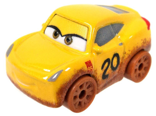 Disney Cars Die Cast Mini Racers Cruz Ramirez as Frances Beltline Car [Loose]