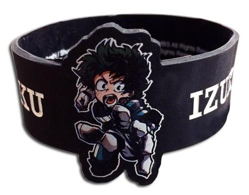 My Hero Academia Izuku Midoriya PVC Wristband