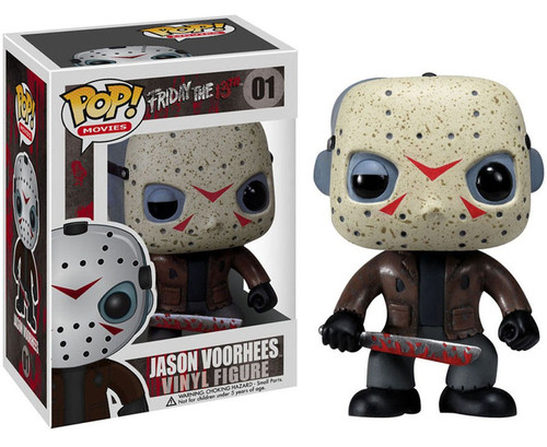 Funko Friday the 13th POP! Movies Jason Voorhees Vinyl Figure #01 [Damaged Package, Mint Figures]