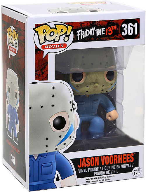 Funko Friday the 13th POP! Movies Jason Voorhees Exclusive Vinyl Figure #361 [Blue Jumpsuit, Damaged Package]