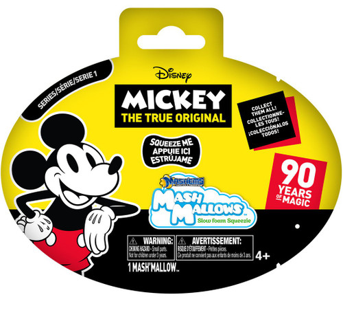 Disney Mickey the True Original Mash Mallows Series 1 Mystery Pack [90 Years of Magic]