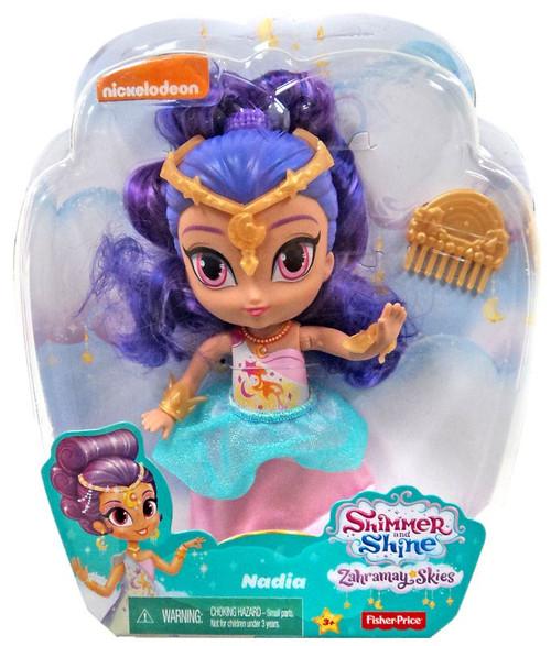 Fisher Price Shimmer & Shine Zahramay Skies Nadia 6-Inch Basic Doll