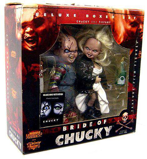 McFarlane Toys Child's Play Movie Maniacs Bride of Chucky Deluxe Boxed Set [Chucky & Tiffany]