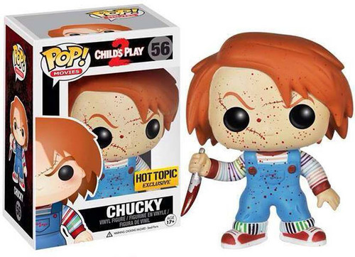 Funko Child's Play 2 POP! Movies Chucky Exclusive Vinyl Figure #56 [Bloody Variant]