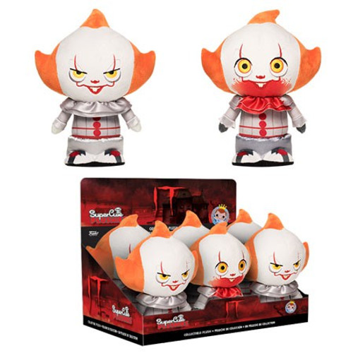 Funko IT Movie (2017) Pennywise Plush PDQ [6 Pieces]
