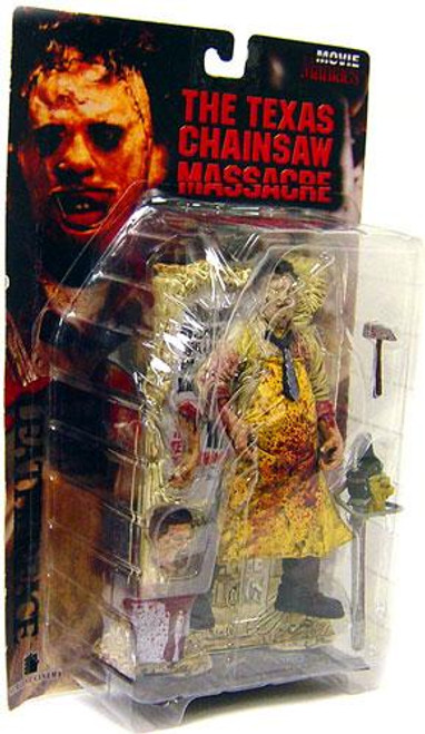 McFarlane Toys The Texas Chainsaw Massacre Movie Maniacs Series 4 Leatherface Action Figure [Damaged Package]