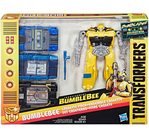 Transformers Bumblebee Greatest Hits Bumblebee Cassette Pack Exclusive Action Figure