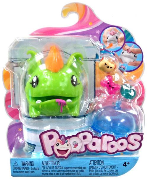 Pooparoos Pet & Food Green Monster Figure Pack