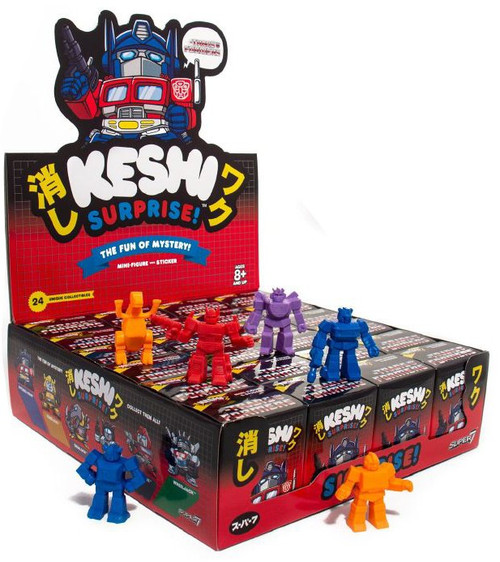Keshi Surprise Transformers Autobots 1.75-Inch Box [24 Packs]
