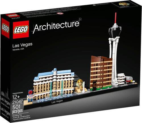 LEGO Architecture Las Vegas Nevada Set #21047