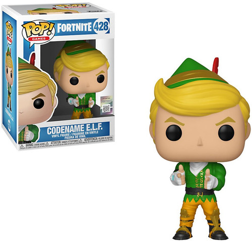 Funko Fortnite POP! Games Codename E.L.F Exclusive Vinyl Figure #426