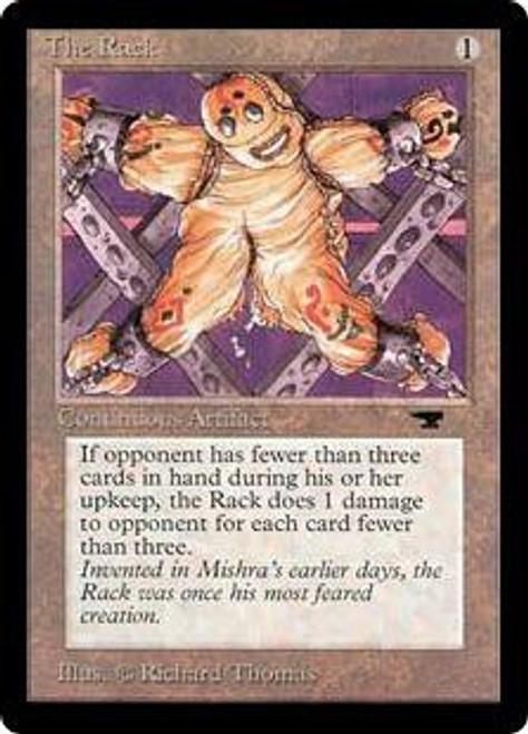 MtG Antiquities Uncommon The Rack [Slightly Played]