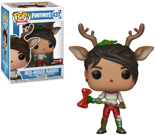 Funko Fortnite POP! Games Red Nosed Raider Exclusive Vinyl Figure #437
