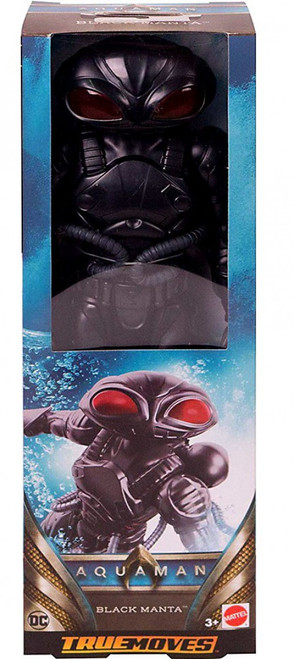 DC Aquaman True Moves Black Manta Action Figure
