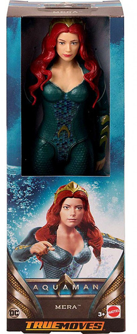 DC Aquaman True Moves Mera Action Figure