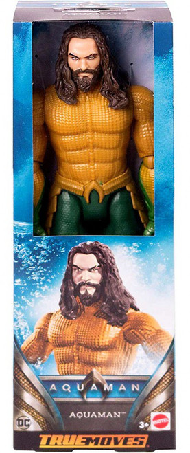 DC True Moves Aquaman Action Figure [Movie]
