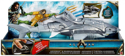 DC Aquaman & Warrior Shark Action Figure Set