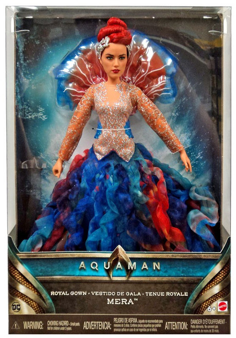 DC Aquaman Mera 12-Inch Doll [Royal Gown]