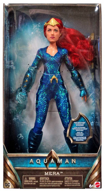 DC Aquaman Mera 12-Inch Basic Fashion Doll