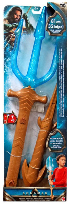 DC Aquaman Deluxe Trident Roleplay Toy