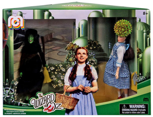 The Wizard of Oz Dorothy & The Wicked Witch of the West Exclusive Action Figure 2-Pack