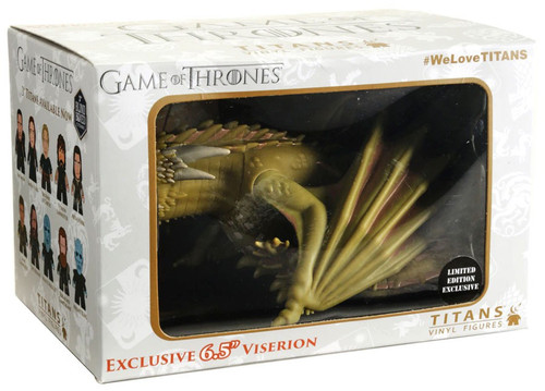 Game of Thrones Viserion Exclusive 6.5-Inch Vinyl Figure
