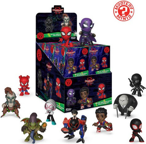Funko Marvel Mystery Minis Spider-Man Into the Spider-Verse Mystery Box [12 Packs]