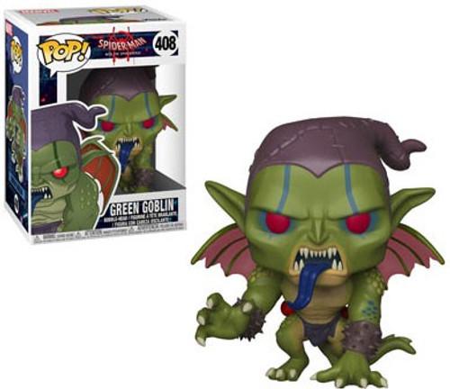 Funko Spider-Man Into the Spider-Verse POP! Marvel Green Goblin Vinyl Bobble Head #408