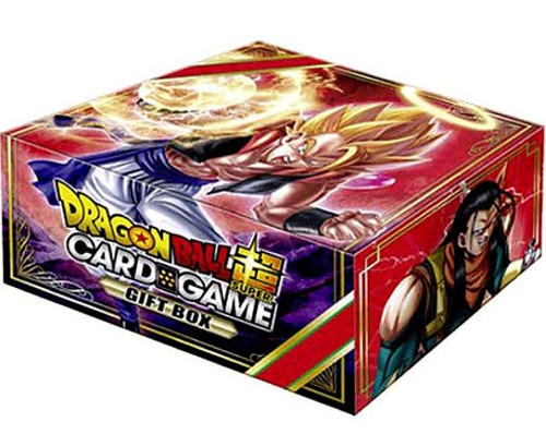 Dragon Ball Super Collectible Card Game Gift Box 01 Set [6 Booster Packs, 1 Leader Card & 1 Tournament Pack!]