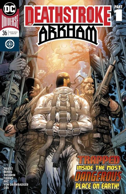 DC Deathstroke #36 Arkham Comic Book
