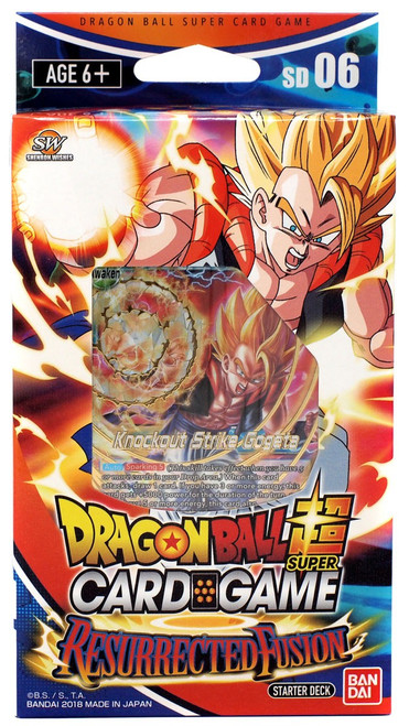 Dragon Ball Super Collectible Card Game Series 5 Miraculous Revival Ressurected Fusion Starter Deck DBS-SD06 [Blue]